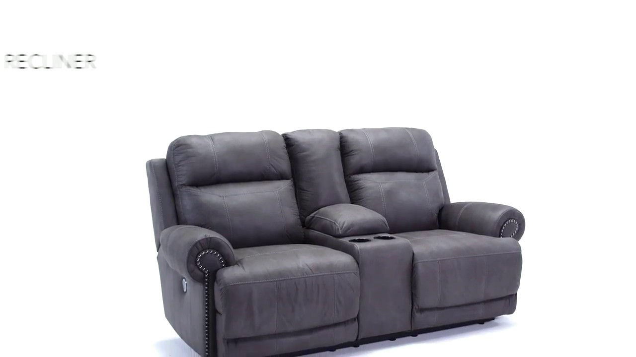 Fabulous Austere Gray Power Reclining Living Room Set Pdpeps Interior Chair Design Pdpepsorg