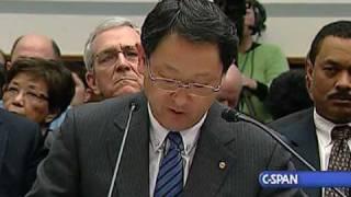 Toyota President Aiko Toyoda on Toyota Recalls
