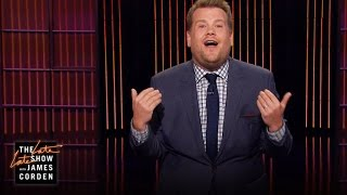 James Corden on Flying with Small Children