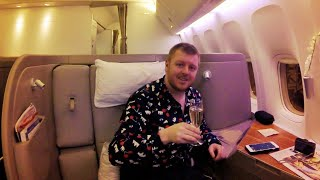 INCREDIBLE First Class on Cathay Pacific's 777-300ER