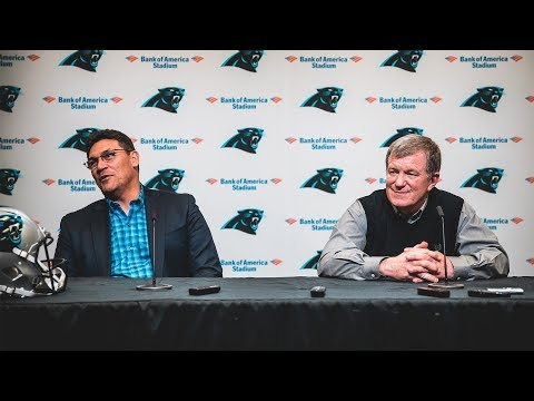 GM Marty Hurney and Ron Rivera explain decision to draft QB Will Grier
