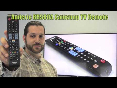 ANDERIC RR580A for Samsung TV Remote Control