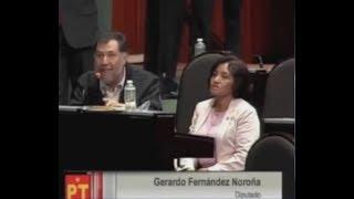 PAYASO DEL PRI HACE EL RIDÍCULO Y NOROÑA LE METE UN COSCORRÓN