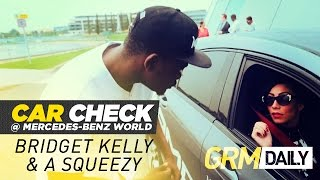 Car Check: A Squeezy Takes Bridget Kelly On A Date To Mercedes-Benz World [GRM Daily]
