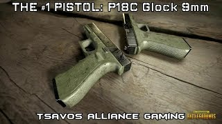 PUBG: P18C Fully Automatic 9mm Pistol (#1 Hand Gun)