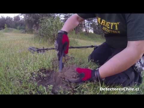 Garrett Propointer ( pinpoint )  prueba de campo | Detectoreschile.cl