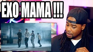 EXO-K | MAMA' MV (Korean ver.)| That Side Flip tho! | REACTION!!!