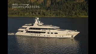 Luxury Yacht SILVER LINING By 1800yachtcharters