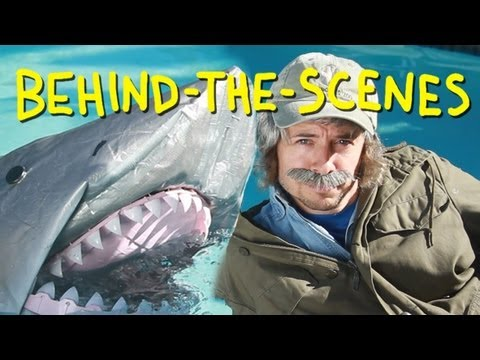 Jaws - You're Gonna Need A Bigger Boat - Homemade (Behind The Scenes)