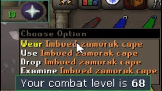 IMBUED MAGE CAPE IS EASY (no prayer)