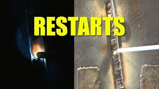 🔥 7018 Fill and Cap Pass Restarts: Common Mistakes and How to Fix Them (Everlast PowerMTS 221STi)