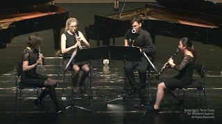 Rainer Bartl, Drei Stücke für Holzbläserquartett / Three Pieces for Woodwind Quartet