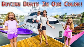 Buying Boats In Our Color!!!
