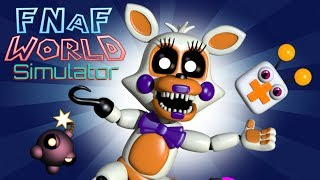 fnaf world simulator all characters locations - TH-Clip