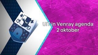 UIT in Venray agenda 2 oktober 2019 - Peel en Maas TV Venray