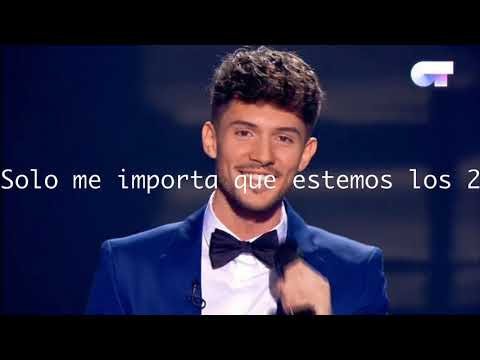 Se Te Nota- Carlos Right, Eurovision Spain (Lyrics Letra)