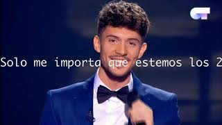 Se Te Nota- Carlos Right, Eurovision Spain (Lyrics Letra)