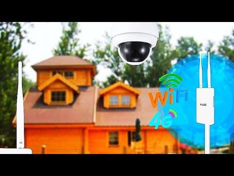 4G WiFi роутер KuWFi интернет для загородного дома / Internet for a country House