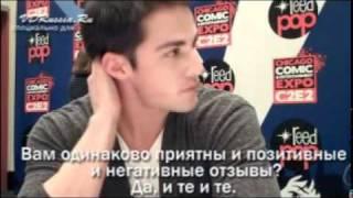 Майкл Тревино, Интервью с Майклом Тревино (русские субтитры)