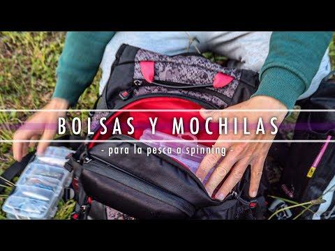 BOLSAS y MOCHILAS || Pesca a Spinning
