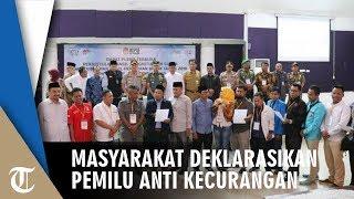 Deklarasi Pemilu Anti Kecurangan di Kabupaten Tangerang