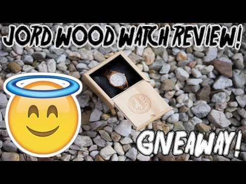 JORD Wood Watch Review/Giveaway! (CLOSED)