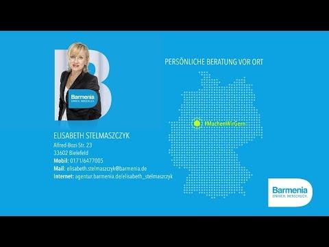 Video 1 Barmenia Versicherung - Elisabeth Stelmaszczyk