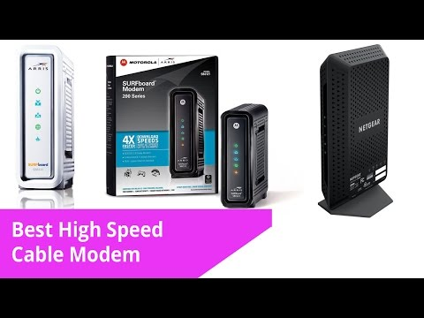Best High Speed Cable Modem 2017 best Modem WIFI Router!