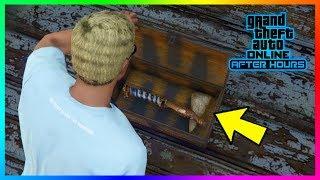 GTA 5 Online - How To Complete The NEW Secret Treasure Hunt & Unlock The Rare Stone Hatchet!