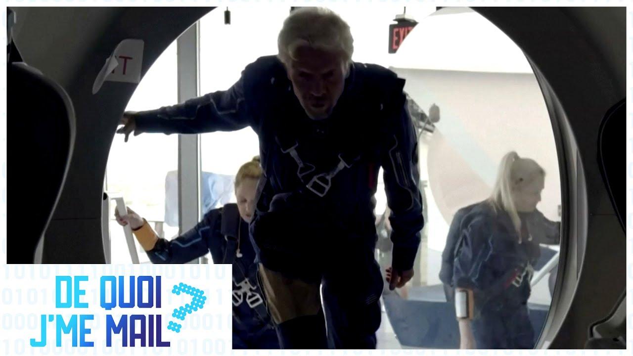 Richard Branson donne le coup d'envoi au tourisme spatial DQJMM (2/2)