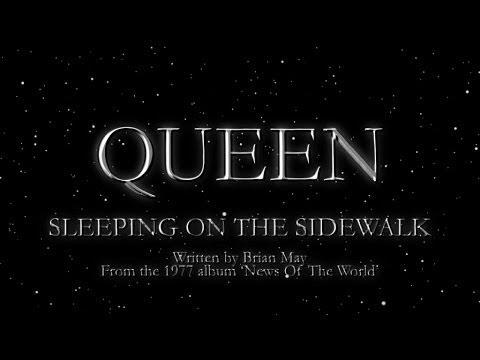 Queen - Sleeping On the Sidewalk (Official Lyric Video)