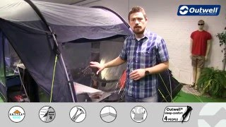 Outwell Rockwell 5 Zelt | Innovative Family Camping  - Deutsche Version