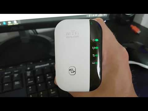 Wifi Repeater 300Mbps Signal Extender Booster Review Setup