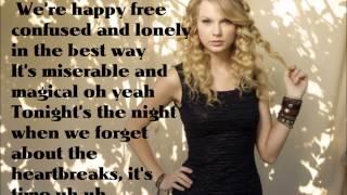 22 - Taylor Swift Lyrics