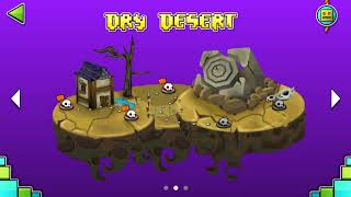 DRY DESERT 100% (1-5 Levels) (Test Fan-Made) | Geometry Dash World | New Island