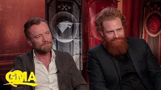 'Game Of Thrones' Richard Dormer And Kristofer Hivju Talk Music L GMA Digital