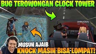 NGAKAK KNOCK MASI BISA LOMPAT! BUG TROWONGAN CLOCK TOWER DAN M79! - Garena Free Fire