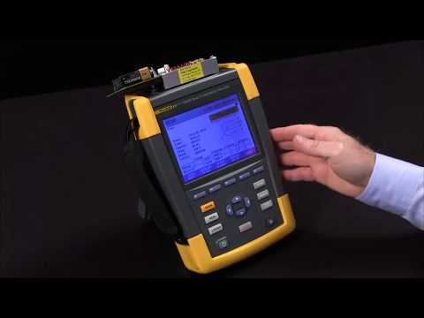 Hire POWER QUALITY ANALYSER - 3 PHASE