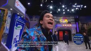 Mpok Alpa dan Anwar Bingung Mobilnya Masuk Studio | SAHUR SEGERR