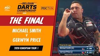 Price V Smith | Belgian Darts Championship Final
