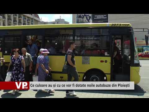 Ce culoare au și cu ce vor fi dotate noile autobuze din Ploiești