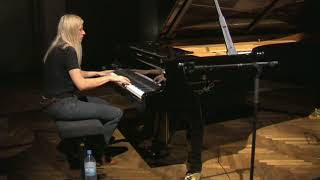 Valentina Lisitsa-Hannover rehearsals/going through the notes in slow&in performance mode