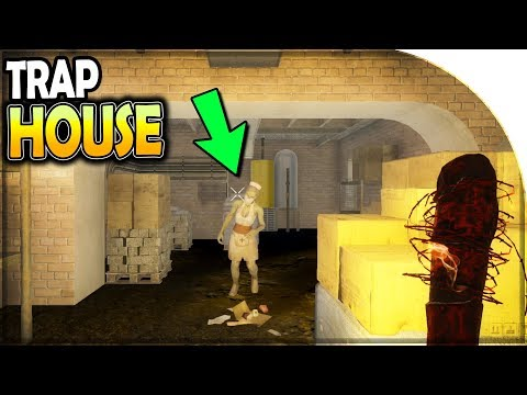 STEEL BARS for the MOTORCYCLE (TRAP HOUSE Looting) - 7 Days to Die Alpha 17 (S2 Part 40)