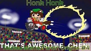 Chen  - (Touhou Project) - Touhou Meme/Fanon Origins #4 (Honk Honk)