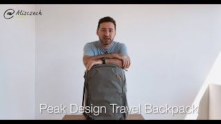 Mega hustej (foto) batoh Peak Design Travel Backpack v praxi [4K] (Alisczech vol. 175)