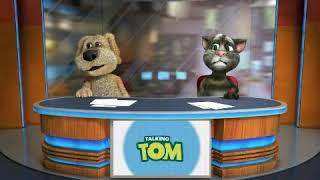 Las últimas noticias con el gato Tom y el perro Ben (Seven Network)