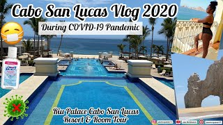 I traveled to Cabo San Lucas During COVID-19 Pandemic & THIS happened | Riu Palace Tour 2020