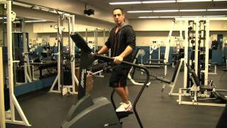 How To Set-Up & Use a Stairmaster