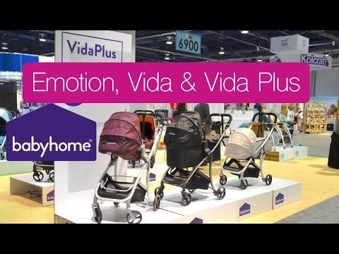עגלה משולבת וידה פלוס - Vida Plus