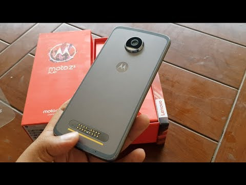 Moto Z2 Play India Unboxing, Hands on, Camera, Features, Moto Mods